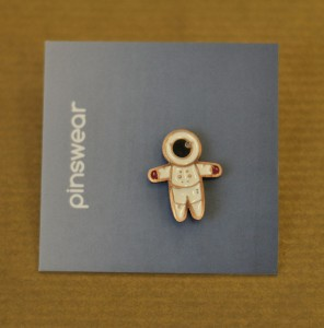 "Pins kosmonauta ""Space Boy"""